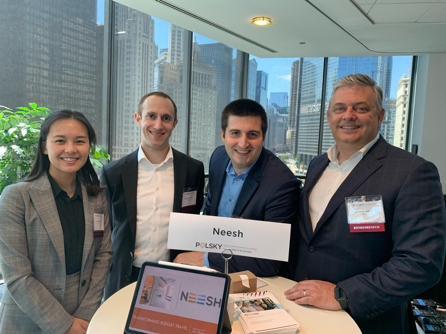 Global IQ Group joins Neesh Inc in Polsky Accelerator, Chicago 2019
