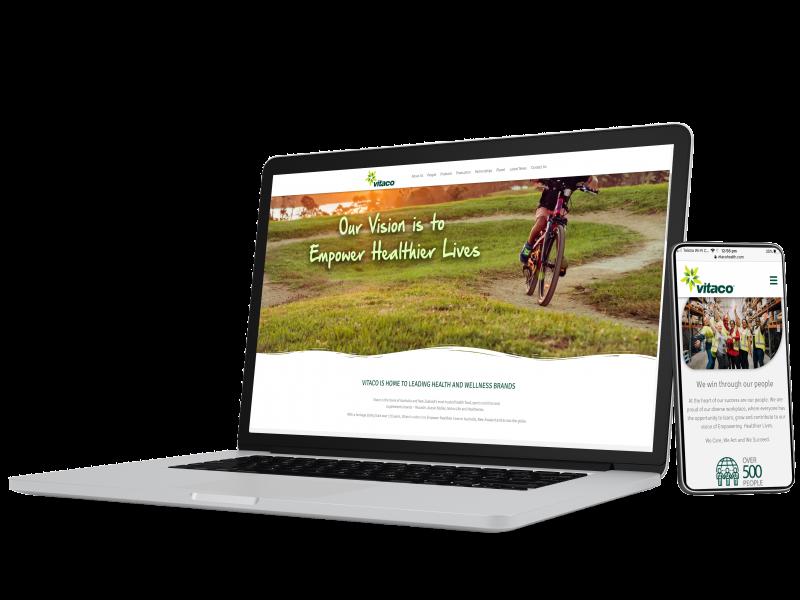 Vitaco Launches New Corporate Website